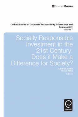 Jacket image for Socially Responsible Investment in the 21st Century