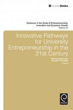 Jacket image for Innovative Pathways for University Entrepreneurship in the 21st Century