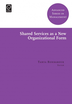 Jacket image for Shared Services as a New Organizational Form