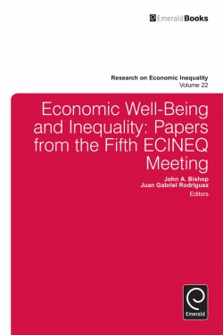 Jacket image for Economic Well-Being and Inequality