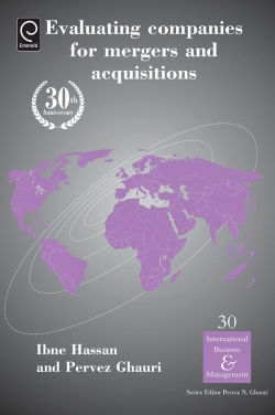 Jacket image for Evaluating Companies for Mergers and Acquisitions