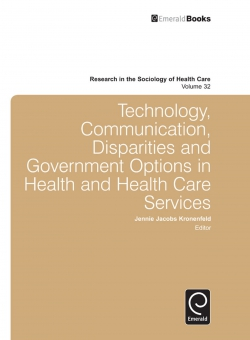Jacket image for Technology, Communication, Disparities and Government Options in Health and Health Care Services