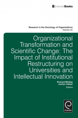 Jacket image for Organisational Transformation and Scientific Change