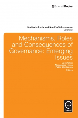Jacket image for Mechanisms, Roles and Consequences of Governance