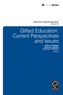 Jacket image for Gifted Education