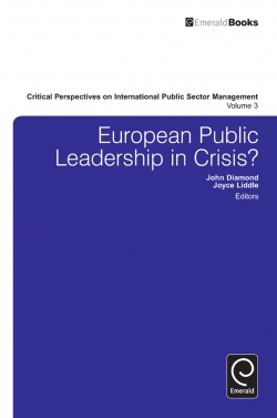 Jacket image for European Public Leadership in Crisis?