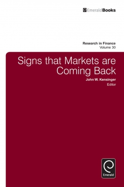 Jacket image for Signs that Markets are Coming Back