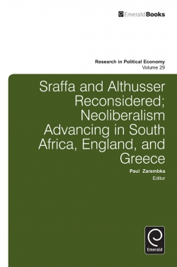 Jacket image for Sraffa and Althusser Reconsidered