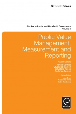 Jacket image for Public Value Management, Measurement and Reporting