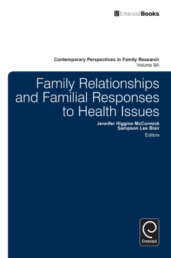 Jacket image for Family Relationships and Familial Responses to Health Issues