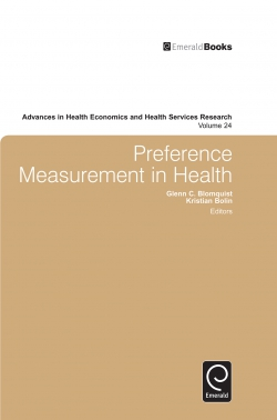 Jacket image for Preference Measurement in Health