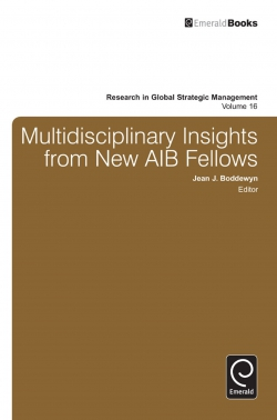 Jacket image for Multidisciplinary Insights from New AIB Fellows