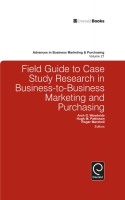 Jacket image for Field Guide to Case Study Research in Business-to-Business Marketing and Purchasing
