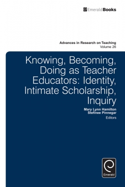 Jacket image for Knowing, Becoming, Doing as Teacher Educators