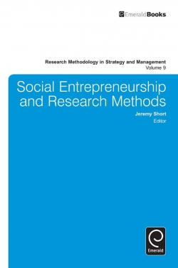 Jacket image for Social Entrepreneurship and Research Methods