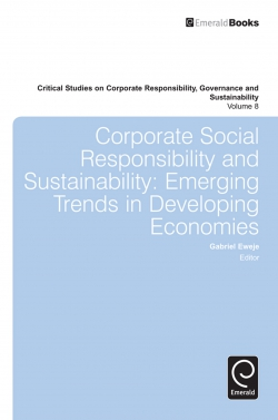 Jacket image for Corporate Social Responsibility and Sustainability