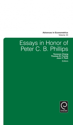 Jacket image for Essays in Honor of Peter C. B. Phillips