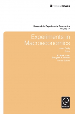 Jacket image for Experiments in Macroeconomics