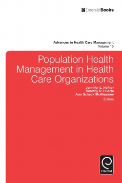 Jacket image for Population Health Management in Health Care Organizations