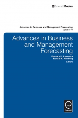 Jacket image for Advances in Business and Management Forecasting