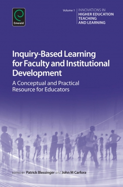 Jacket image for Inquiry-Based Learning for Faculty and Institutional Development
