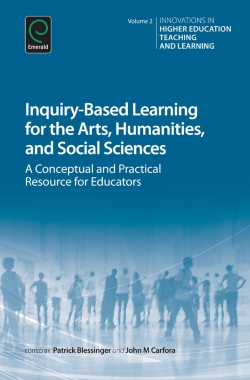 Jacket image for Inquiry-Based Learning for the Arts, Humanities and Social Sciences
