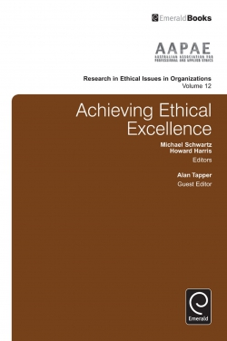 Jacket image for Achieving Ethical Excellence