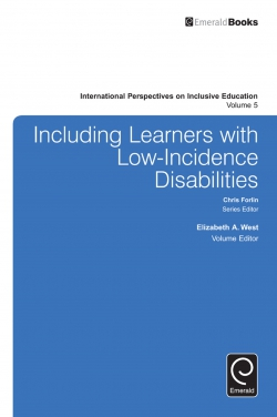 Jacket image for Including Learners with Low-Incidence Disabilities