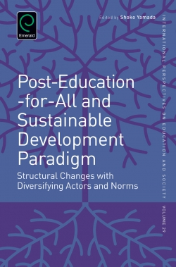 Jacket image for Post-Education-for-All and Sustainable Development Paradigm