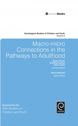 Jacket image for Macro-Micro Connections in the Pathways to Adulthood