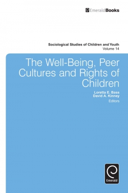 Jacket image for The Well-Being, Peer Cultures and Rights of Children