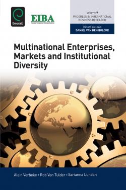 Jacket image for Multinational Enterprises, Markets and Institutional Diversity