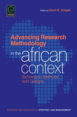 Jacket image for Advancing Research Methodology in the African Context