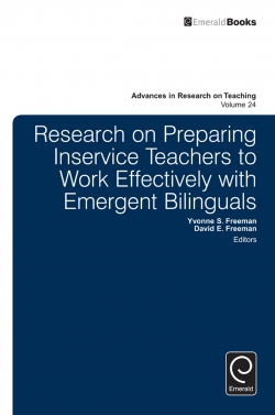 Jacket image for Research on Preparing Inservice Teachers to Work Effectively with Emergent Bilinguals