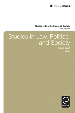 Jacket image for Studies in Law, Politics and Society