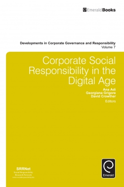 Jacket image for Corporate Social Responsibility in the Digital Age