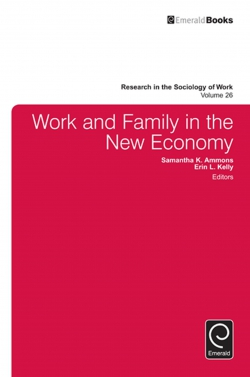 Jacket image for Work and Family in the New Economy