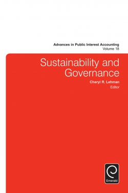 Jacket image for Sustainability and Governance