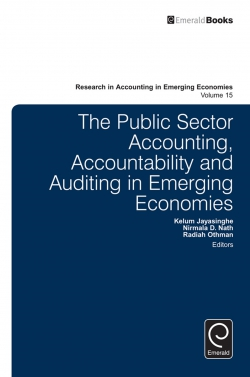 Jacket image for The Public Sector Accounting, Accountability and Auditing in Emerging Economies'