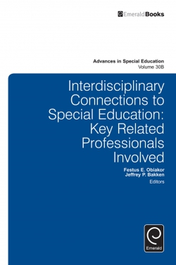 Jacket image for Interdisciplinary Connections to Special Education