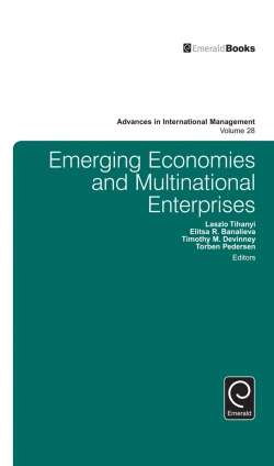 Jacket image for Emerging Economies and Multinational Enterprises