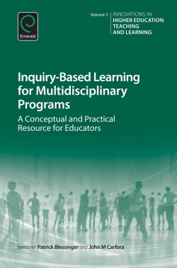 Jacket image for Inquiry-Based Learning for Multidisciplinary Programs