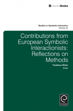 Jacket image for Contributions from European Symbolic Interactionists