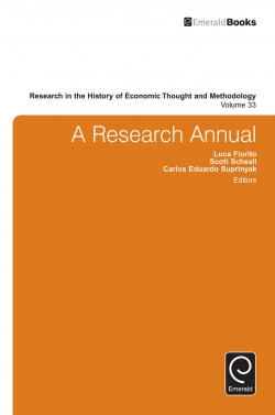 Jacket image for A Research Annual