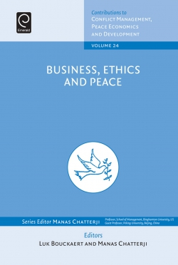 Jacket image for Business, Ethics and Peace