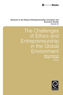 Jacket image for The Challenges of Ethics and Entrepreneurship in the Global Environment