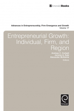 Jacket image for Entrepreneurial Growth