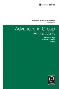 Jacket image for Advances in Group Processes
