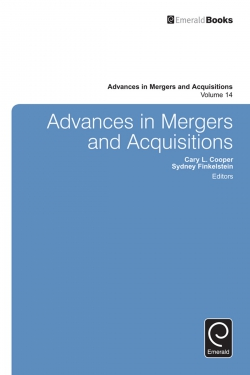 Jacket image for Advances in Mergers & Acquisitions