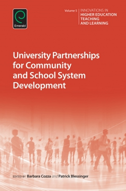 Jacket image for University Partnerships for Community and School System Development
